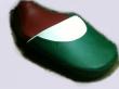 Σέλα με τα χρώματα της σημαίας της Ιταλίας