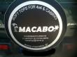 ΝΕΟ Κάλυμα για ρεζέρβα από την MACABO
