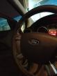 Επένδυση τιμονιου με μαυρο δερμα σε Ford focus